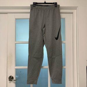 ⭐️NIKE gray cuffed sports pants men's SM LIKE NEW